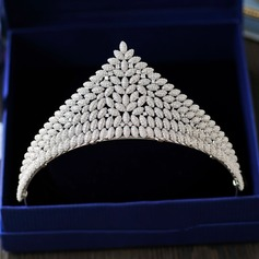 Ladies Lovely Zircon Tiaras With Cubic Zirconia