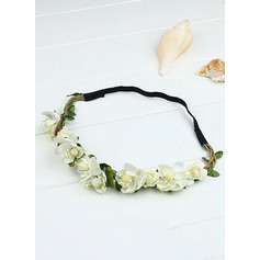 Artificial Flower With Flower Flower Headband (Sold in a single piece) (198207537)