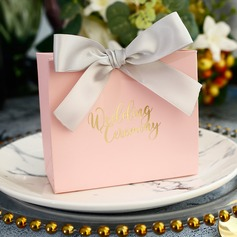Sweet Love Other Card Paper Favor Boxes With Ribbons (Set of 30)