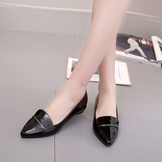 De mujer PU Tacón bajo Cerrados con Otros zapatos