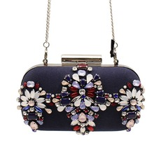 Fashional Imitation Pearl/Alloy Clutches/Satchel