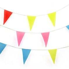Colorful Pennant Banner (set of 10)