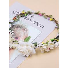 Fløjl Flower Headband
