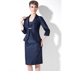 3/4-Length Sleeve Taffeta Special Occasion Wrap