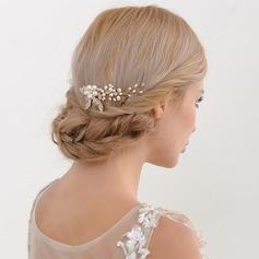 Abbigliamento donna Stile classico lega Pettine & clip di capelli con Perla Veneziano (Venduto in un unico pezzo)