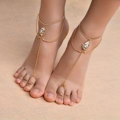 Tekojalokivi Foot Smykker (Myyty yhtenä palana)