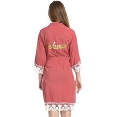 personnalisé Coton la mariée Demoiselle d'honneur Robe à paillettes
