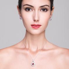Bonito Zircon Senhoras Conjuntos de jóias