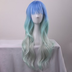 Loose Wavy Synthétique Perruques capless 280g