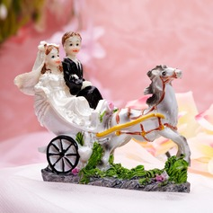 """Sweet Moment"" Resin Wedding Cake Topper"