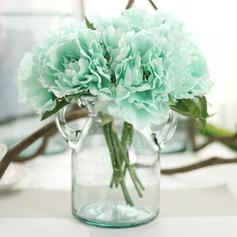 Attractive Mão-amarrado Seda artificiais Buquês de noiva/Buquês da nama de honra/Flores da Tabela do Casamento -