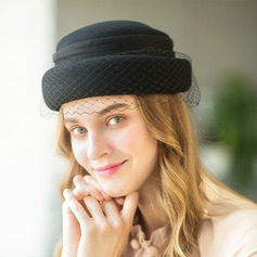 Señoras' Simple/Niza/Alta calidad/Estilo de la vendimia Madera Disquete Sombrero