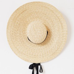 Ladies ' Håndlavet/Hotteste Rattan Straw Stråhat/Kentucky Derby Hatte