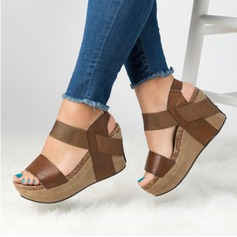 Women's PU Wedge Heel Sandals Wedges With Others shoes