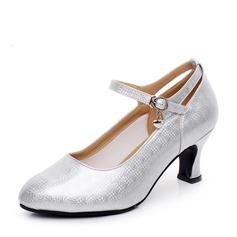 De mujer Cuero Sala de Baile Zapatos de danza