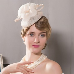 Damer' Enkel Netto garn Fascinators/Tea Party Hattar