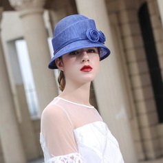 Ladies' Beautiful/Fashion/Glamourous/Elegant/Unique/Amazing/Eye-catching/Charming/Fancy/Romantic/Vintage/Artistic Cambric With Flower Beach/Sun Hats