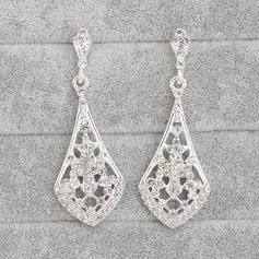 Gorgeous Alloy With Rhinestone Ladies' Earrings