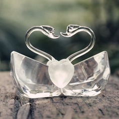 """Love Story""/Cute Animal Lovely Birds Crystal Creative Gifts With Ribbons"