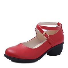 Женщины кожа На каблуках Практика Обувь для танцев