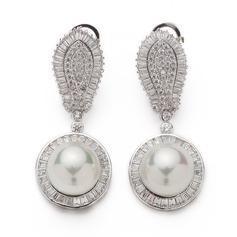 Gorgeous Pärla/Zirkon Damer' örhängen