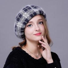 Damer' Mode/Unik/Söt/Hetaste/Romantiskt Cony Hår/polyester Beanien / Slouchy/Diskett Hat
