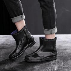 Mænd Gummi Lav Hæl Gummistøvler sko