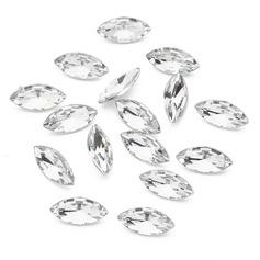 Ljusa Akryl Diamantbitar (väska om 266)
