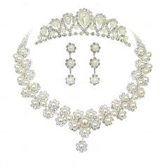 Элегантные сплав/Перлы ложный женские Комплекты ювелирных изделий