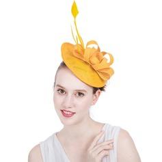 Dames Prachtige/Het oog Springende/Romantische Batist met Feather Fascinators/Kentucky Derby Hats
