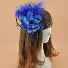 Dames Elegant Polyester met Feather Fascinators/Theepartij hoeden