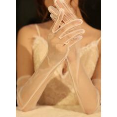 Tyll Opera Längd Handskar Bridal