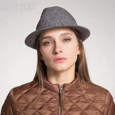 Ladies' Beautiful/Classic/Elegant Wool Floppy Hats