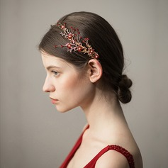 Ladies Elegant Alloy Headbands With Rhinestone (Sold in single piece)