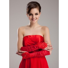 Elastic Satin Elbow Length Party/Fashion Gloves/Bridal Gloves (014020469)