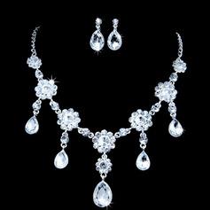 Lindo Liga/Strass Mulheres Conjuntos de jóias