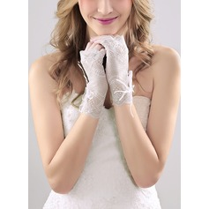 Nylon Wrist Length Bridal Gloves (014118012)
