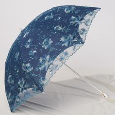 индийская жатая ткань в полоску Свадебные зонты
