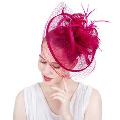 Dames Magnifique/Mode/Glamour Batiste avec Feather/Tulle Chapeaux de type fascinator/Kentucky Derby Des Chapeaux