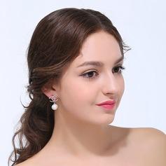 Elegant Zirkon Damen Ohrringe