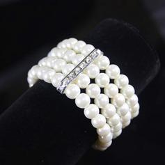 Exquisito La perla de faux Señoras' Pulseras