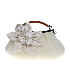 Elegant Silk Clutches/Wristlets/Top Handle Bags/Bridal Purse (012141833)