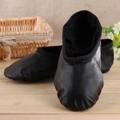 De mujer Piel Planos Ballet Zapatos de danza