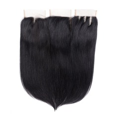 "4""*4"" 5A Gerade Menschliches Haar Bedeckung (Einzelstück verkauft)"