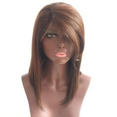 4A Nicht remy Gerade Menschliches Haar Spitze Front Perücken 180g