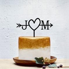 Personalizzato Coppia Classic/Dolce Amore Acrilico Decorazioni per torte