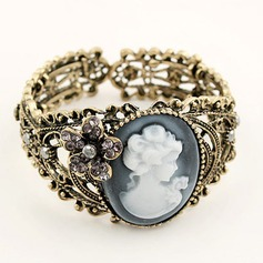 Vintage Alloy With Rhinestone Women's Fashion Bracelets (137049365)