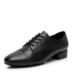 Hommes Vrai cuir Latin Modern Style Jazz Chaussures de danse