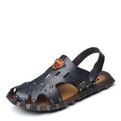 Män Microfiber läder Fritids Sandaler för män