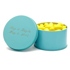 Personalized Simple Design Tins Favor Tin (Set of 12)